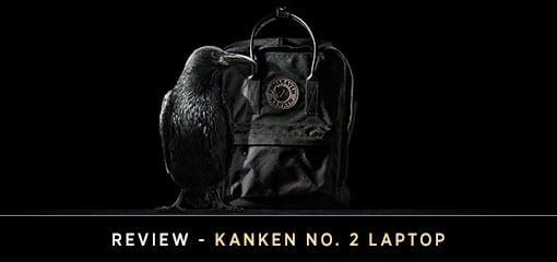Kanken's Durable No 2 Laptop Bag