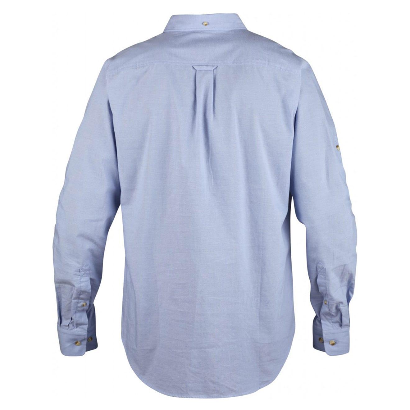 Fjallraven Ovik Chambray Shirt Blue Ridge