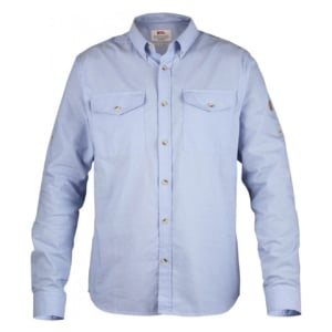 Fjallraven Ovik Chambray Shirt Blue Ridge