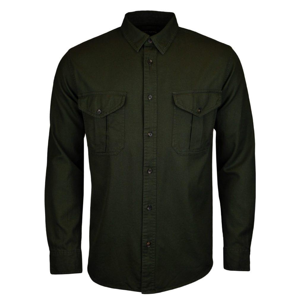 Filson lightweight alaskan guide shirt brunswick green