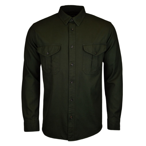 Filson lightweight alaskan guide shirt brunswick green