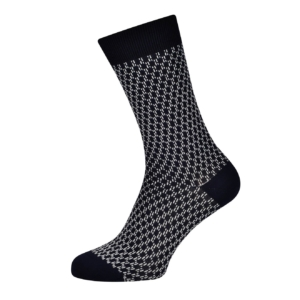Sunspel Geo Jacquard Cotton Sock Geo Jacquard