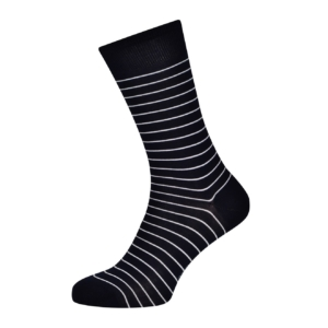 Sunspel Simple Stripe Cotton Sock
