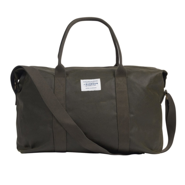 barbour eadan holdall archive olive