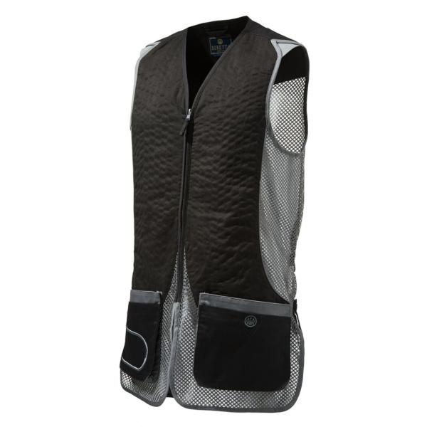 Beretta DT11 Shooting Vest Black Dark Grey