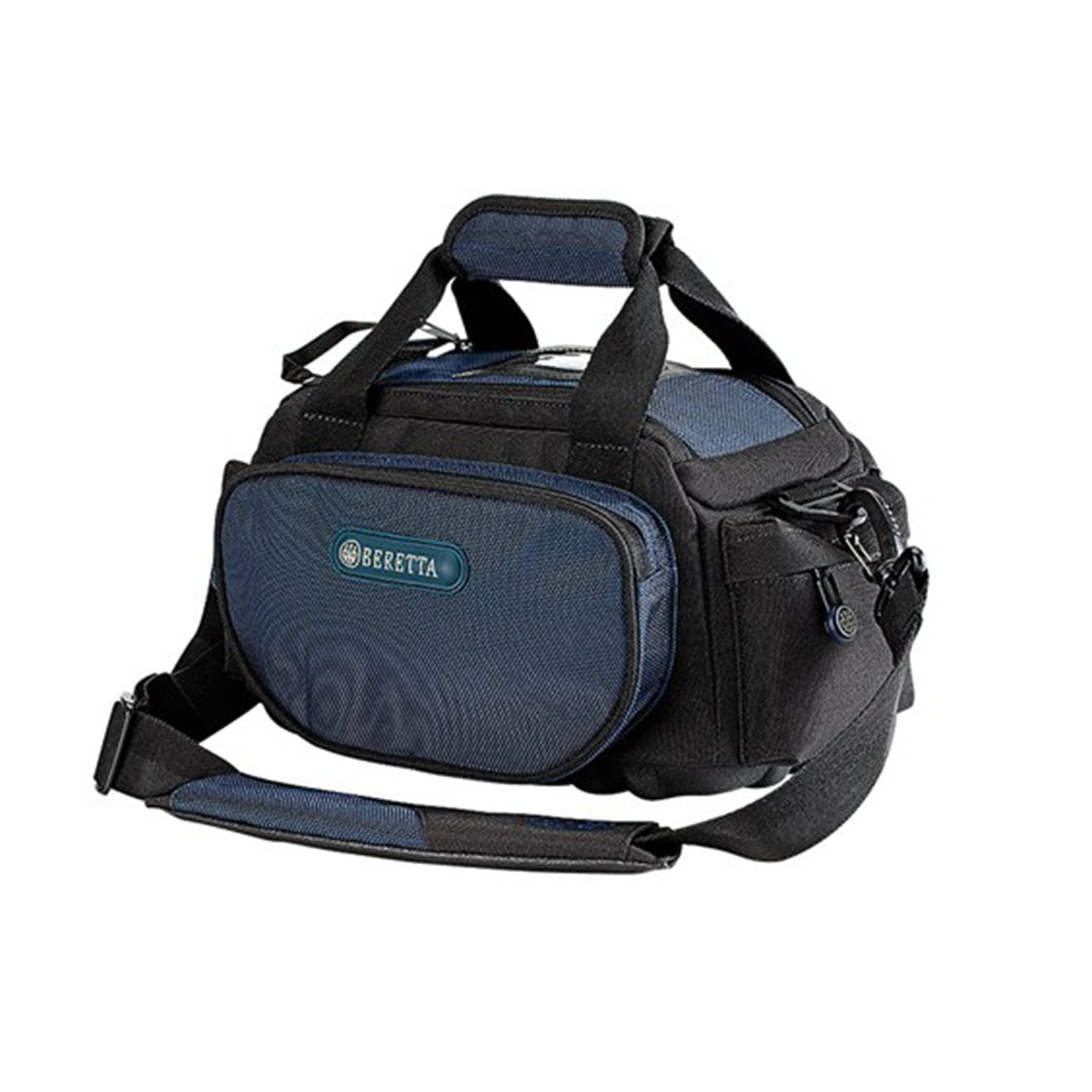 beretta high performance range bag small 4 box blue insignia