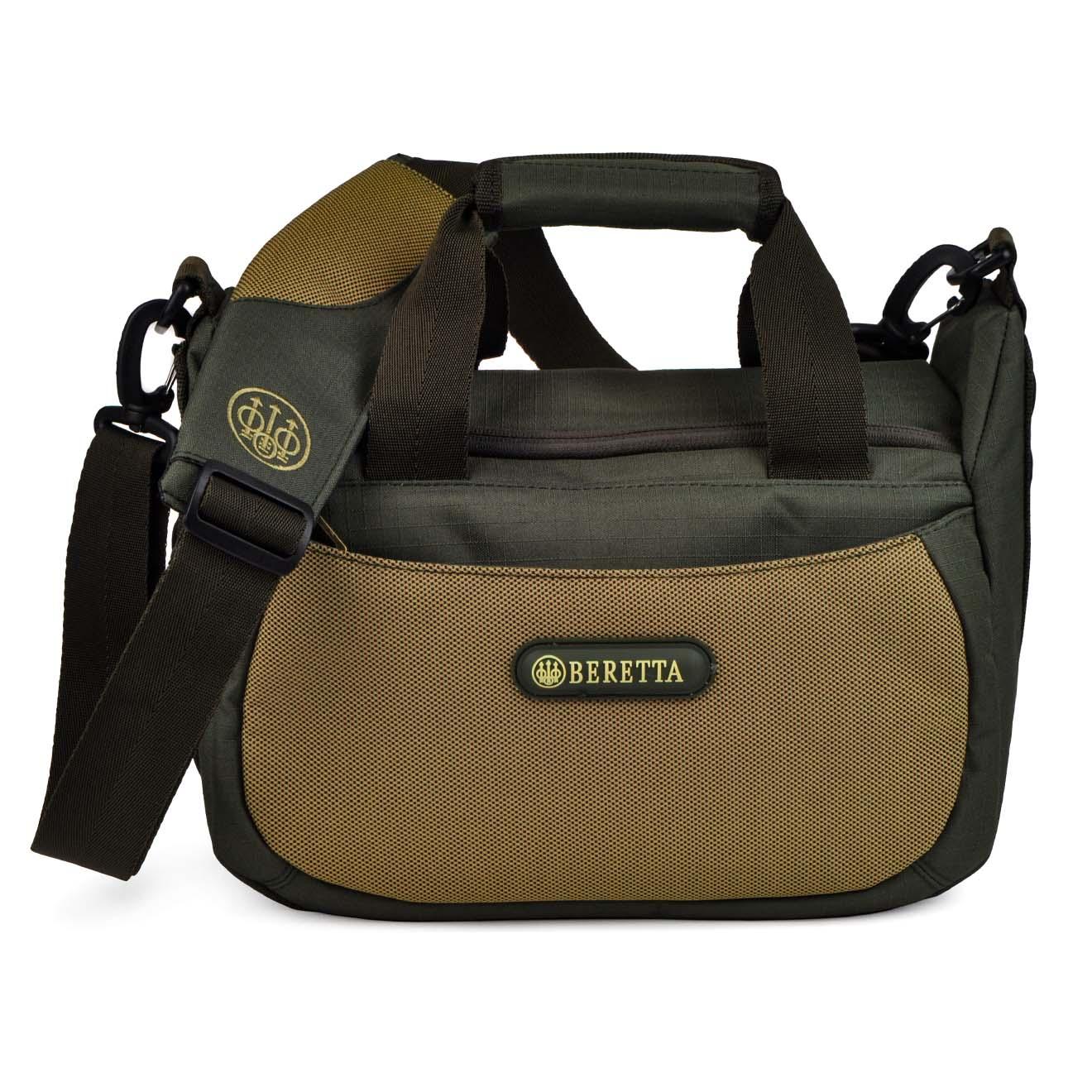 beretta retriever 100 cartridge bag green light brown