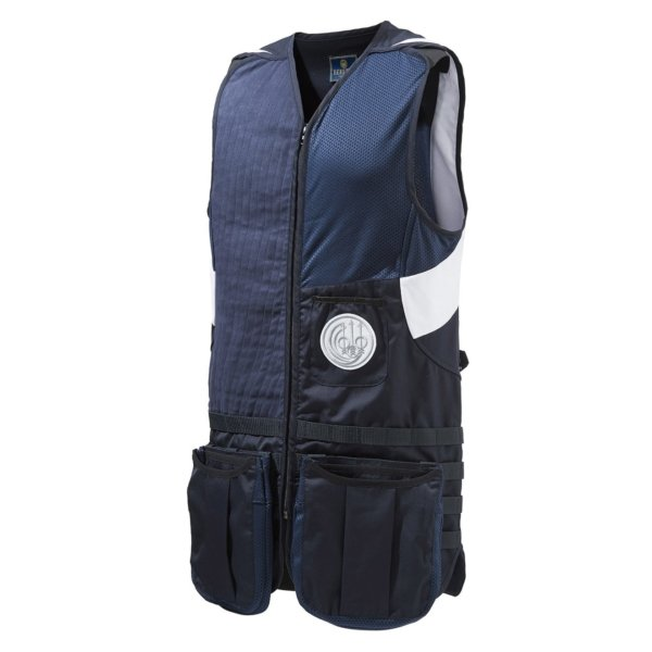 Beretta Shooting Vest Molle Blue Navy