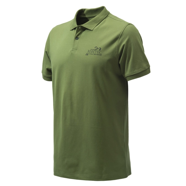 Beretta Since 1526 Corporate Polo Sage Green