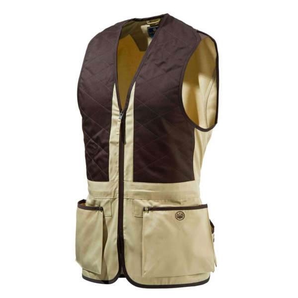 Beretta Trap Vest Corn and Coffe