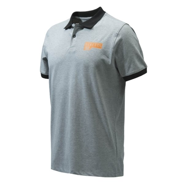 Beretta Victory Corporate Polo Grey Melange
