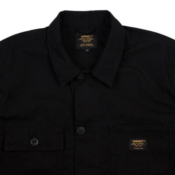 Carhartt Michigan Shirt Jacket Dark Navy Rinsed