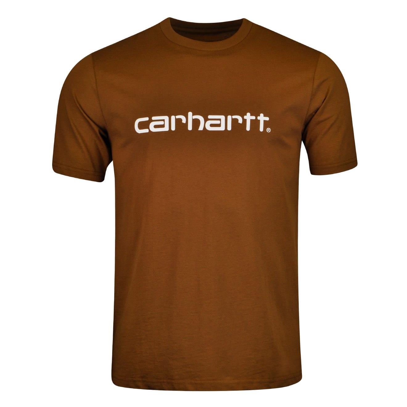 carhartt script t shirt the sporting lodge. Black Bedroom Furniture Sets. Home Design Ideas