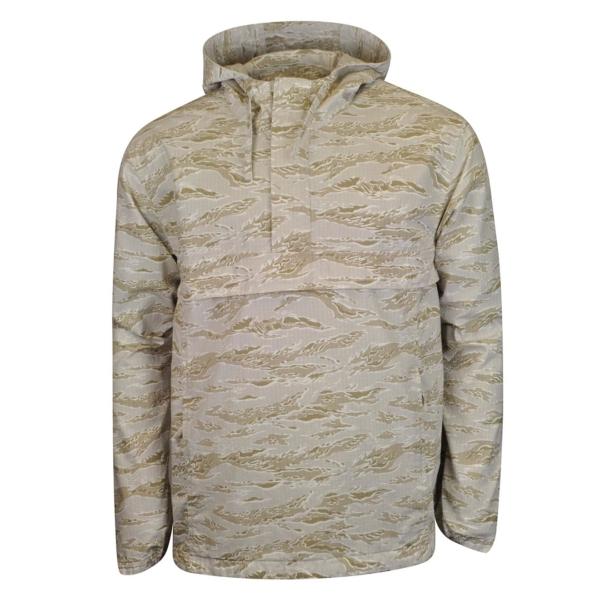 Carhartt Vega Pullover Jacket Camo Tiger Desert Rinsed