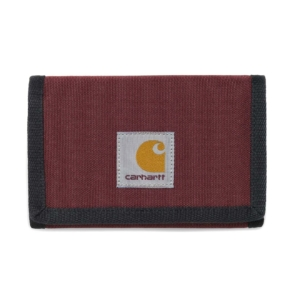 carhartt watch wallet cypress chianti dark navy