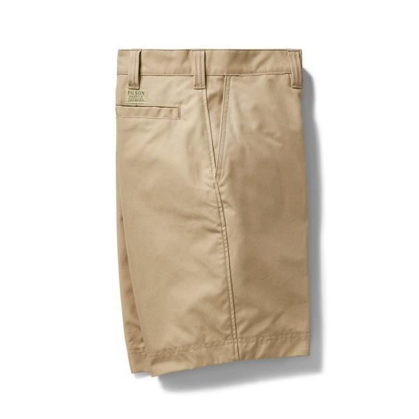 filson dry shelter cloth short camel