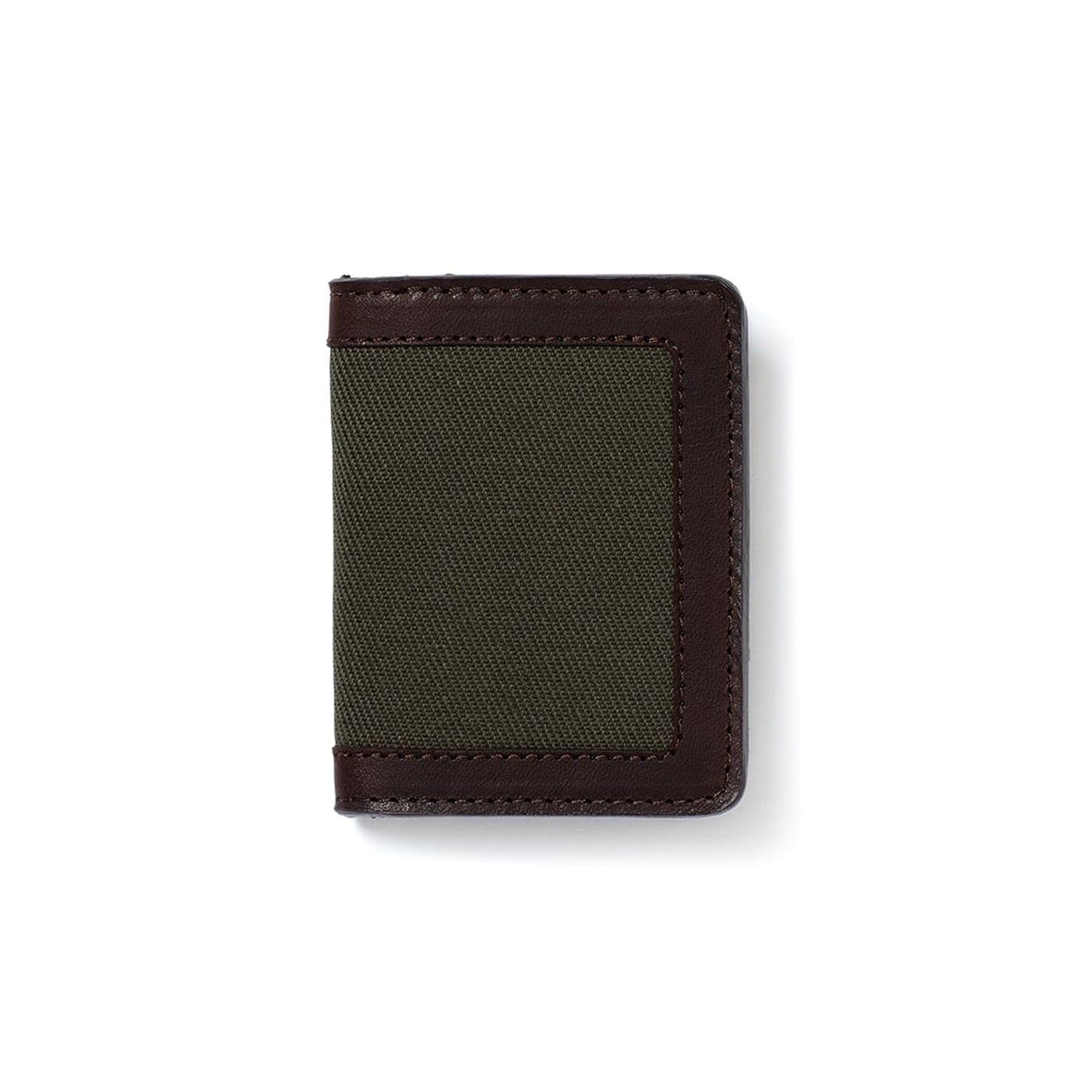 Filson Outfitter Card Wallet Otter Green