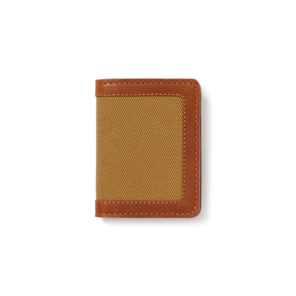 Filson Outfitter Card Wallet Tan
