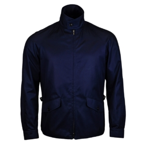 Grenfell Cloth Golfer Jacket French Navy