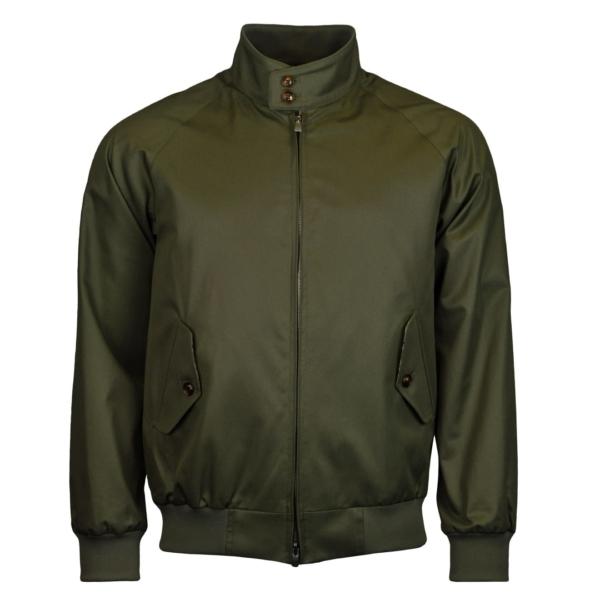 Grenfell Cloth Harrington Jacket Olive