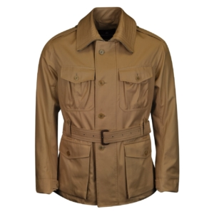 Grenfell Malborough Cloth Jacket Biscuit