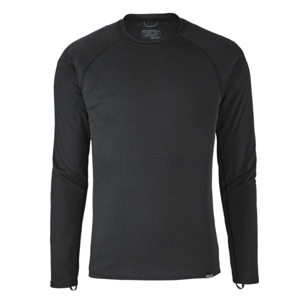 Patagonia Capiline Midweight Crew Baselayer Black