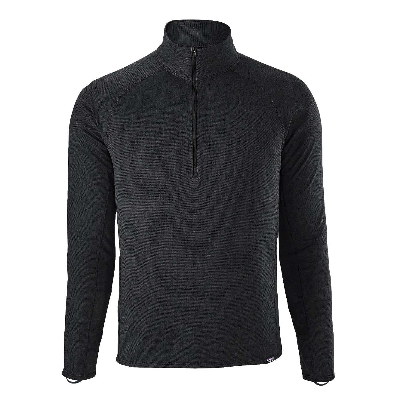Details about Patagonia Capilene Midweight Zip Neck Baselayer Black -  CLEARANCE 99038a90e