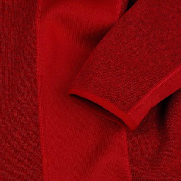 patagonia performance better sweater quarter zip fleece classic red