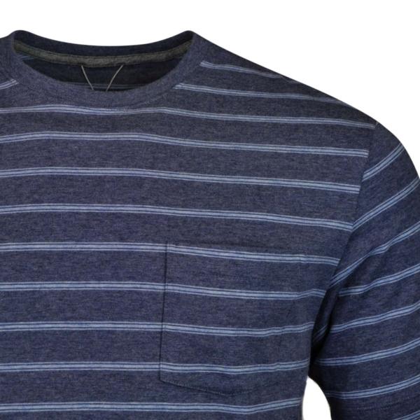 patagonia squeaky clean pocket Tshirt sentinel stripe dolomite blue