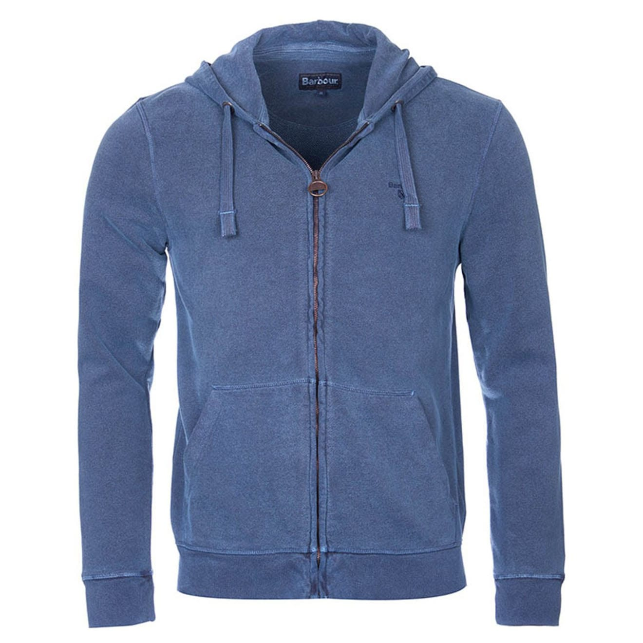 Barbour Garment Dyed Hooded Sweat Navy