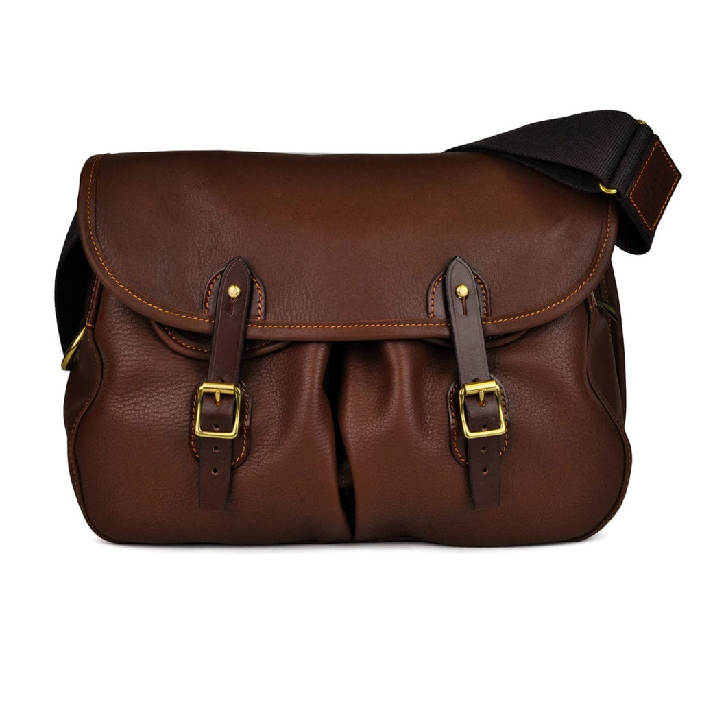 Brady Leather Trout Bag Chestnut