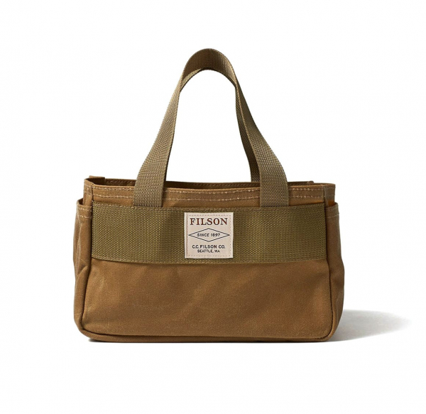 Filson Shot Shell Bag Oil Finish Dark Tan