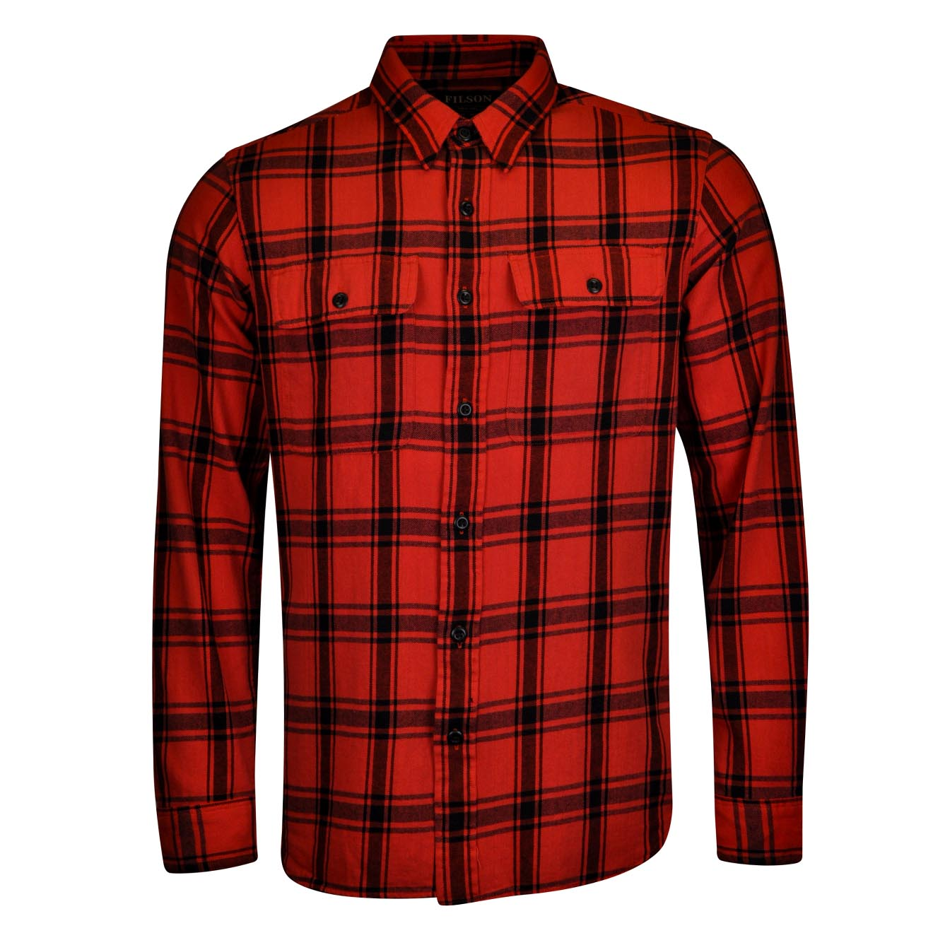 Filson Scout Shirt Red Black