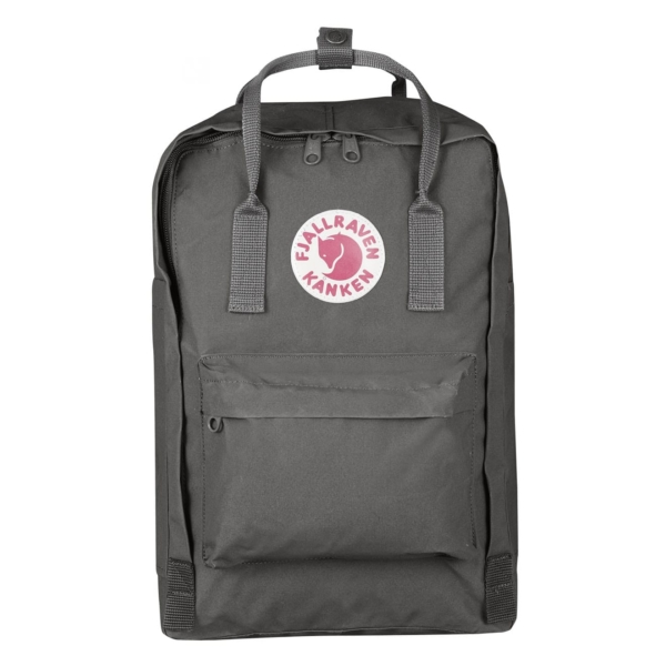 Fjallraven Kanken Laptop 15 Backpack Super Grey