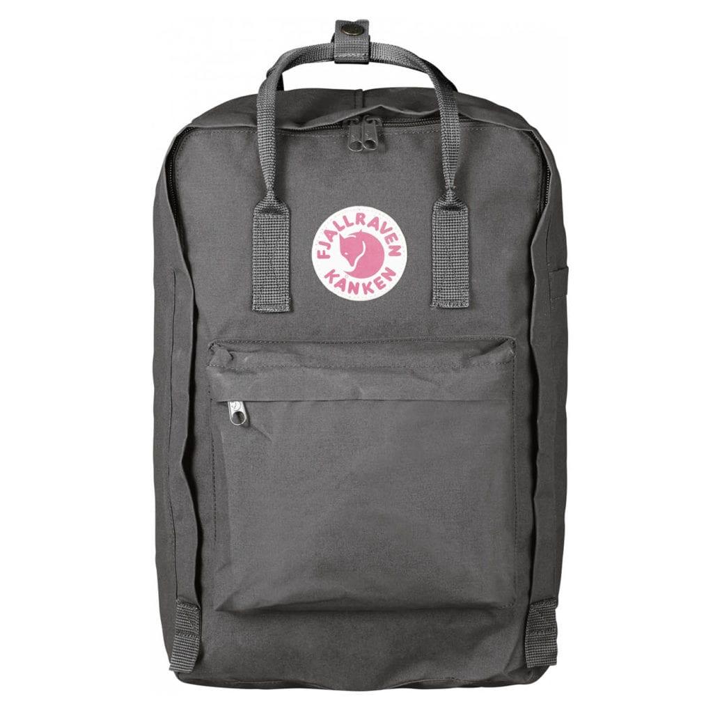 Fjallraven Kanken Laptop 17 Backpack Super Grey