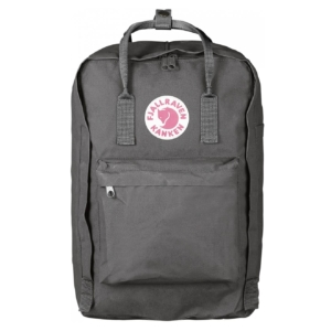 Fjallraven Kanken Laptop 17 Backpack Super Grey