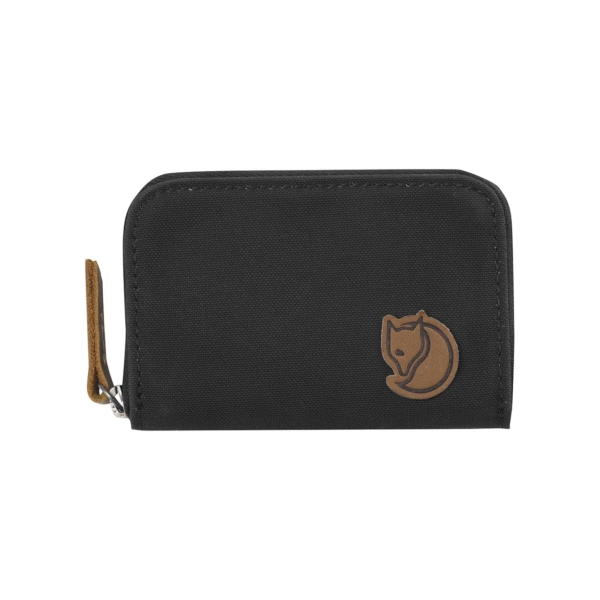 Fjallraven Zip Card Holder Dark Grey
