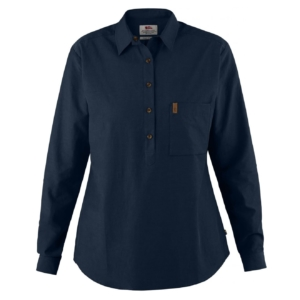 Fjallraven Womens Kiruna Lite Shirt Dark Navy
