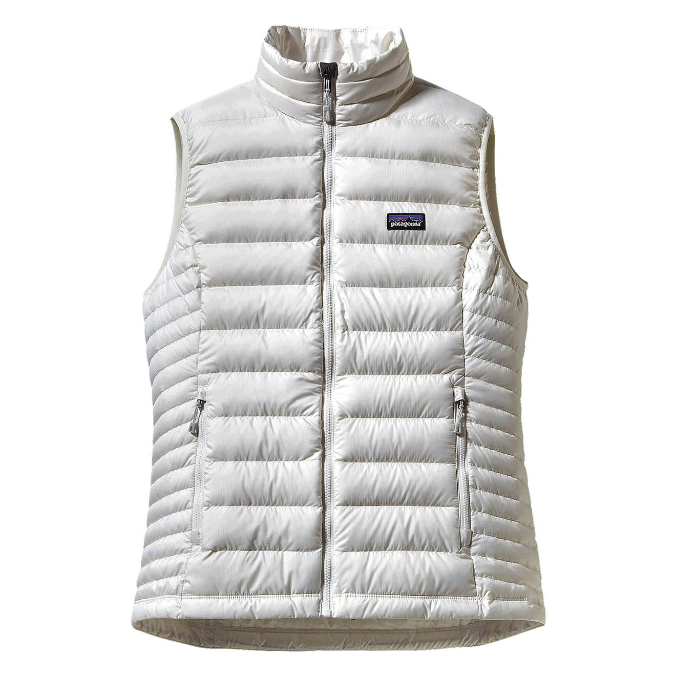 Patagonia Womens Down Sweater Vest Birch White