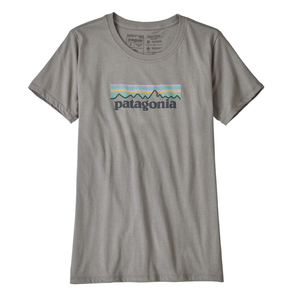 Patagonia Womens Pastel P-6 Logo Cotton T-Shirt