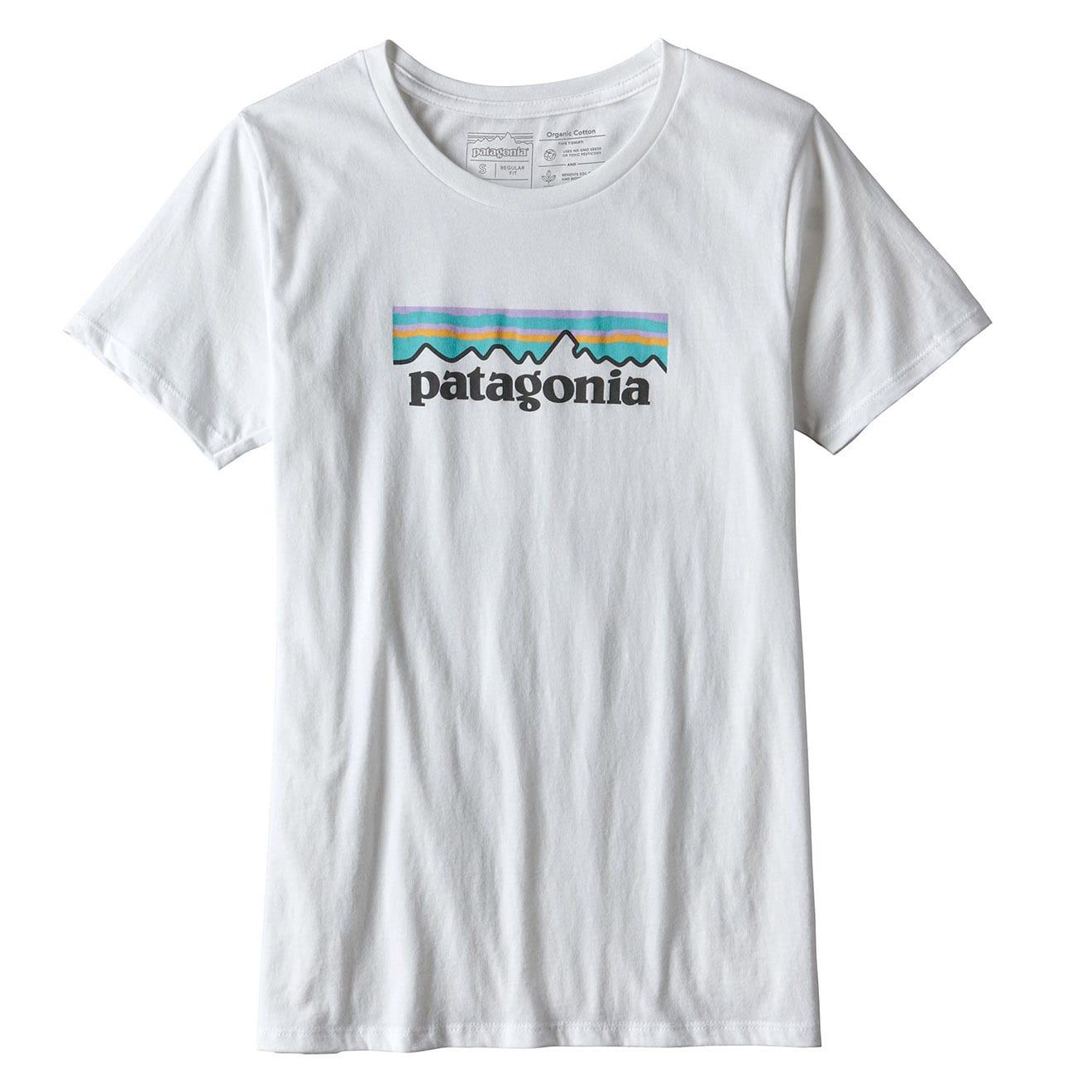Patagonia Womens Pastel P-6 Logo Cotton T-Shirt
