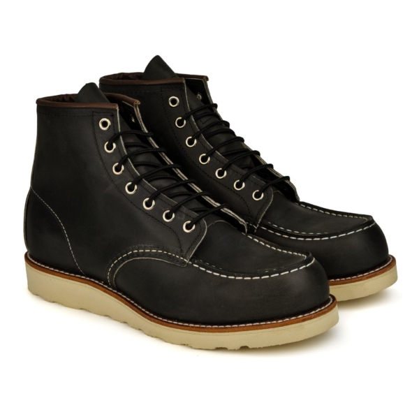 Red Wing 6inch Moc Leather Boot Charcoal 3