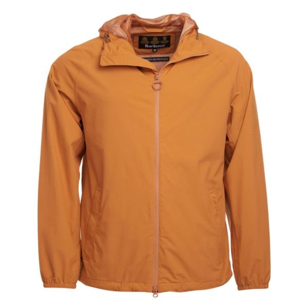 Barbour Irvine Weather Comfort Jacket Cinder With Fixed Hood, Raglan Sleeves & Welt Pockets