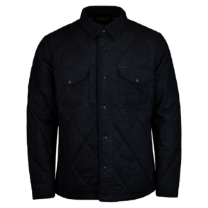 filson hyder quilted jac shirt faded navy 3