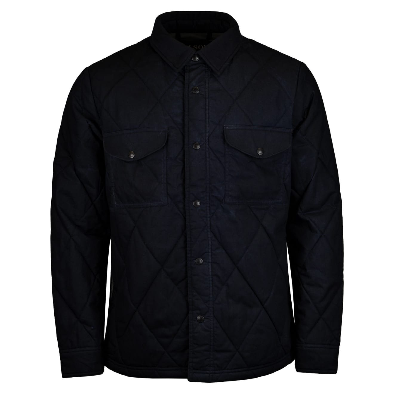 Filson Hyder Quilted Jac Shirt Faded Navy The Sporting Lodge