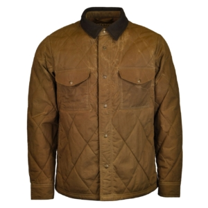 filson hyder quilted jac shirt tan