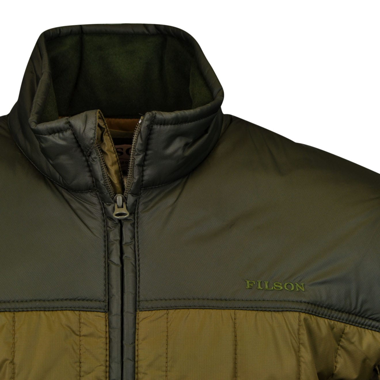 Filson Ultra Light Quilted Jacket Olive The Sporting Lodge