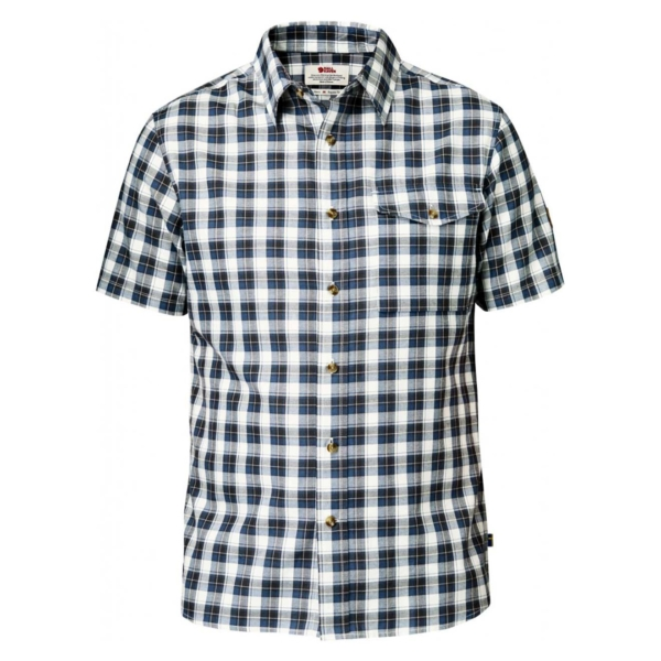 Fjallraven Singi Short Sleeve Shirt Uncle Blue