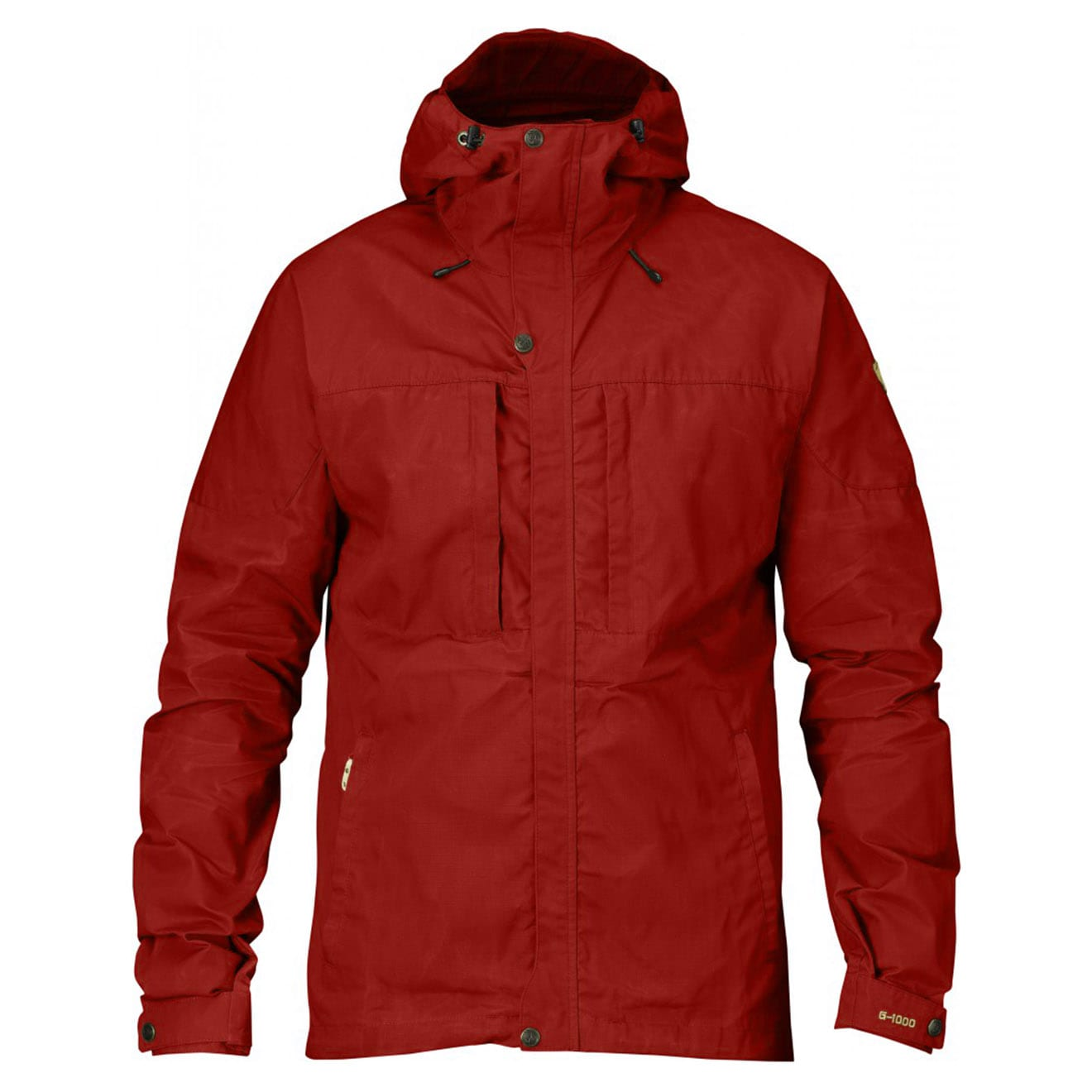 4fe7e16ab1 Fjallraven Skogso Jacket Deep Red - The Sporting Lodge