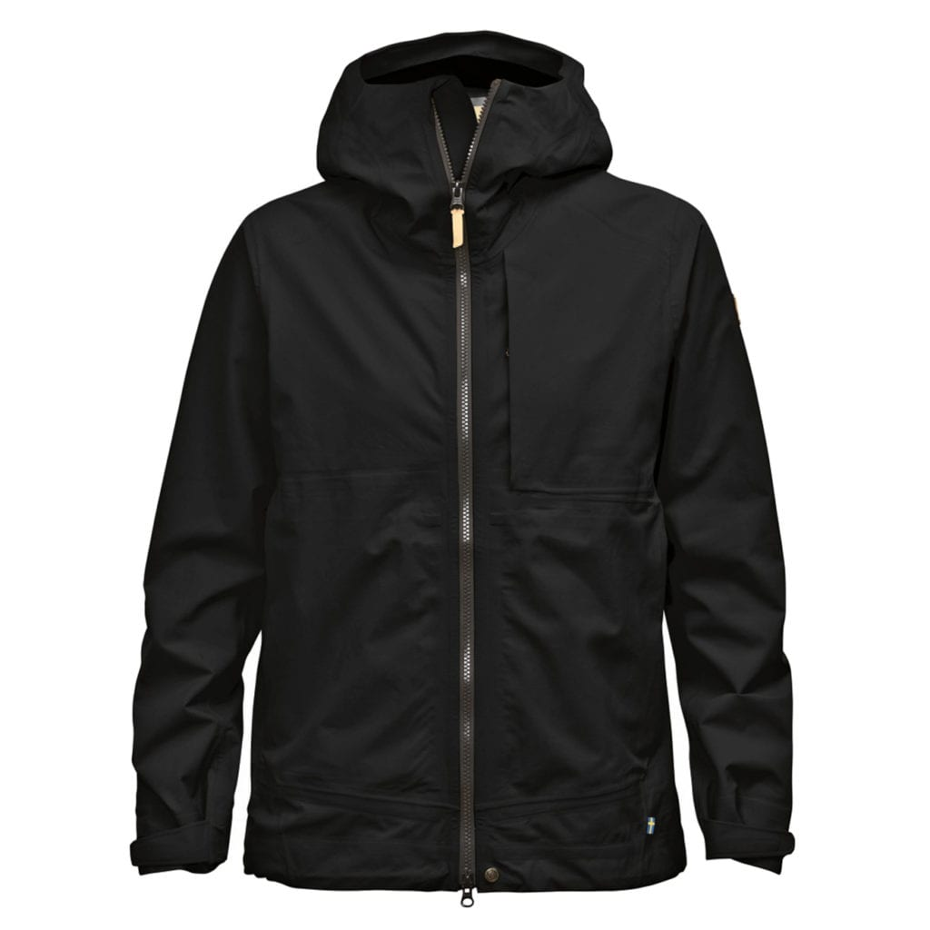 Fjallraven Womens Abisko Eco-Shell Jacket Black